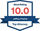 men's divorce law firm Avvo Rating 10.0